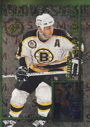 1995-96 Stadium Club Nemeses #3 Claude Lemieux, Cam Neely<br/>6 In Stock - $5.00 each - <a href=https://centericecollectibles.foxycart.com/cart?name=1995-96%20Stadium%20Club%20Nemeses%20%233%20Claude%20Lemieux,...&quantity_max=6&price=$5.00&code=43705 class=foxycart> Buy it now! </a>