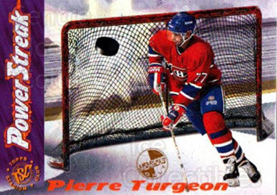 1995-96 Stadium Club Power Streak Members Only #1 Pierre Turgeon<br/>3 In Stock - $5.00 each - <a href=https://centericecollectibles.foxycart.com/cart?name=1995-96%20Stadium%20Club%20Power%20Streak%20Members%20Only%20%231%20Pierre%20Turgeon...&quantity_max=3&price=$5.00&code=43708 class=foxycart> Buy it now! </a>