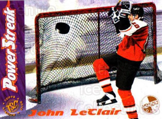 1995-96 Stadium Club Power Streak Members Only #6 John LeClair<br/>6 In Stock - $3.00 each - <a href=https://centericecollectibles.foxycart.com/cart?name=1995-96%20Stadium%20Club%20Power%20Streak%20Members%20Only%20%236%20John%20LeClair...&quantity_max=6&price=$3.00&code=43713 class=foxycart> Buy it now! </a>