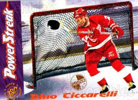 1995-96 Stadium Club Power Streak Members Only #7 Dino Ciccarelli<br/>9 In Stock - $3.00 each - <a href=https://centericecollectibles.foxycart.com/cart?name=1995-96%20Stadium%20Club%20Power%20Streak%20Members%20Only%20%237%20Dino%20Ciccarelli...&quantity_max=9&price=$3.00&code=43714 class=foxycart> Buy it now! </a>