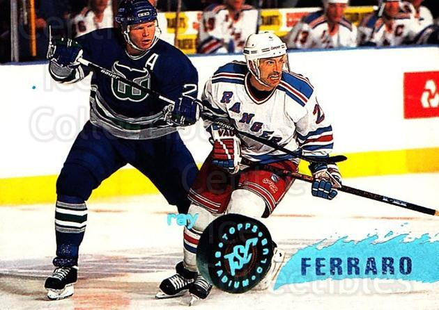 1995-96 Stadium Club #120 Ray Ferraro<br/>5 In Stock - $1.00 each - <a href=https://centericecollectibles.foxycart.com/cart?name=1995-96%20Stadium%20Club%20%23120%20Ray%20Ferraro...&quantity_max=5&price=$1.00&code=43746 class=foxycart> Buy it now! </a>