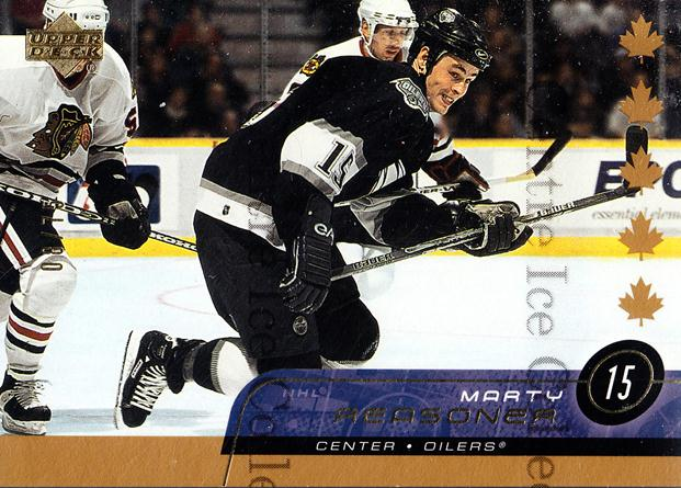 2002-03 Upper Deck UD Exclusives #70 Marty Reasoner<br/>2 In Stock - $5.00 each - <a href=https://centericecollectibles.foxycart.com/cart?name=2002-03%20Upper%20Deck%20UD%20Exclusives%20%2370%20Marty%20Reasoner...&quantity_max=2&price=$5.00&code=437653 class=foxycart> Buy it now! </a>