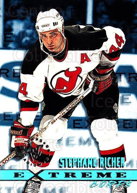 1995-96 Stadium Club #176 Stephane Richer<br/>5 In Stock - $1.00 each - <a href=https://centericecollectibles.foxycart.com/cart?name=1995-96%20Stadium%20Club%20%23176%20Stephane%20Richer...&quantity_max=5&price=$1.00&code=43802 class=foxycart> Buy it now! </a>