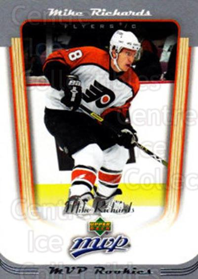 <a href=index.aspx?SetName=2005-06%20Upper%20Deck%20MVP>2005-06 Upper Deck MVP</a> #406 <a href=index.aspx?PlayerName=Mike%20Richards> Mike Richards</a><br/>4 in stock - $3.00 each - <a href=https://centericecollectibles.foxycart.com/cart?name=2005-06%20Upper%20Deck%20MVP%20%23406%20Mike%20Richards...&price=$3.00&code=438512 class=foxycart> Buy it now! </a>