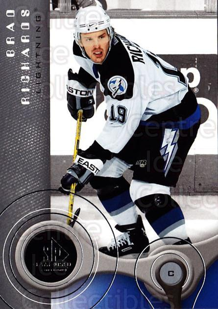 2005-06 Sp Game Used #89 Brad Richards<br/>4 In Stock - $2.00 each - <a href=https://centericecollectibles.foxycart.com/cart?name=2005-06%20Sp%20Game%20Used%20%2389%20Brad%20Richards...&quantity_max=4&price=$2.00&code=438608 class=foxycart> Buy it now! </a>