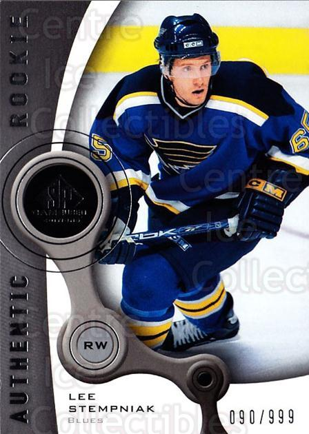 2005-06 Sp Game Used #129 Lee Stempniak<br/>3 In Stock - $5.00 each - <a href=https://centericecollectibles.foxycart.com/cart?name=2005-06%20Sp%20Game%20Used%20%23129%20Lee%20Stempniak...&quantity_max=3&price=$5.00&code=438648 class=foxycart> Buy it now! </a>