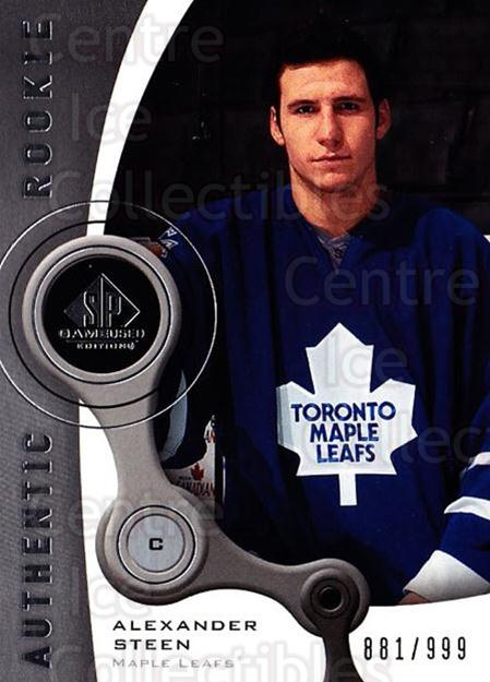 2005-06 Sp Game Used #136 Alexander Steen<br/>1 In Stock - $10.00 each - <a href=https://centericecollectibles.foxycart.com/cart?name=2005-06%20Sp%20Game%20Used%20%23136%20Alexander%20Steen...&quantity_max=1&price=$10.00&code=438655 class=foxycart> Buy it now! </a>