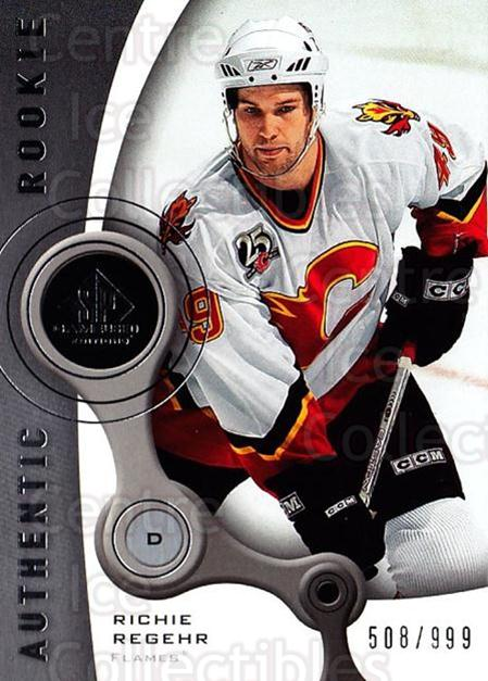 2005-06 Sp Game Used #196 Richie Regehr<br/>2 In Stock - $5.00 each - <a href=https://centericecollectibles.foxycart.com/cart?name=2005-06%20Sp%20Game%20Used%20%23196%20Richie%20Regehr...&quantity_max=2&price=$5.00&code=438715 class=foxycart> Buy it now! </a>