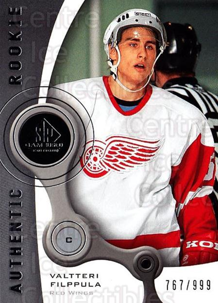 2005-06 Sp Game Used #208 Valtteri Filppula<br/>1 In Stock - $5.00 each - <a href=https://centericecollectibles.foxycart.com/cart?name=2005-06%20Sp%20Game%20Used%20%23208%20Valtteri%20Filppu...&quantity_max=1&price=$5.00&code=438727 class=foxycart> Buy it now! </a>