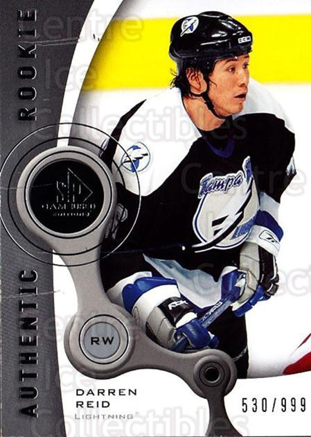 2005-06 Sp Game Used #235 Darren Reid<br/>2 In Stock - $5.00 each - <a href=https://centericecollectibles.foxycart.com/cart?name=2005-06%20Sp%20Game%20Used%20%23235%20Darren%20Reid...&quantity_max=2&price=$5.00&code=438754 class=foxycart> Buy it now! </a>