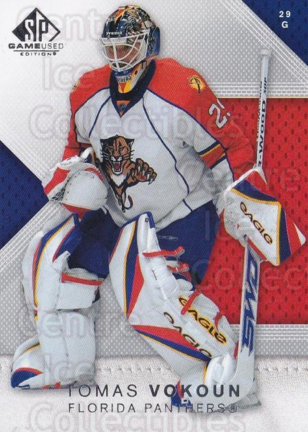 2007-08 Sp Game Used #57 Tomas Vokoun<br/>1 In Stock - $1.00 each - <a href=https://centericecollectibles.foxycart.com/cart?name=2007-08%20Sp%20Game%20Used%20%2357%20Tomas%20Vokoun...&quantity_max=1&price=$1.00&code=438816 class=foxycart> Buy it now! </a>