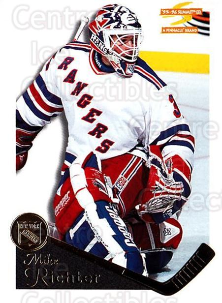1995-96 Summit #115 Mike Richter<br/>3 In Stock - $1.00 each - <a href=https://centericecollectibles.foxycart.com/cart?name=1995-96%20Summit%20%23115%20Mike%20Richter...&quantity_max=3&price=$1.00&code=44050 class=foxycart> Buy it now! </a>