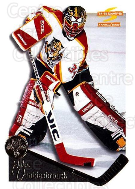 1995-96 Summit #130 John Vanbiesbrouck<br/>4 In Stock - $1.00 each - <a href=https://centericecollectibles.foxycart.com/cart?name=1995-96%20Summit%20%23130%20John%20Vanbiesbro...&quantity_max=4&price=$1.00&code=44067 class=foxycart> Buy it now! </a>