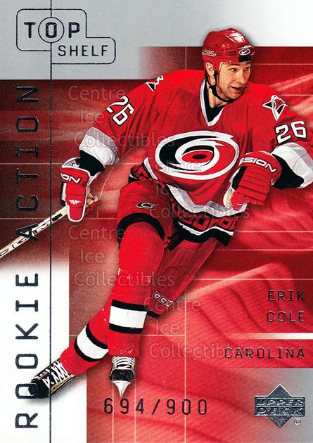 2001-02 UD Top Shelf #124 Erik Cole<br/>1 In Stock - $5.00 each - <a href=https://centericecollectibles.foxycart.com/cart?name=2001-02%20UD%20Top%20Shelf%20%23124%20Erik%20Cole...&quantity_max=1&price=$5.00&code=440687 class=foxycart> Buy it now! </a>