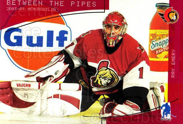 2003-04 BAP Memorabilia Ruby #154 Ray Emery<br/>1 In Stock - $3.00 each - <a href=https://centericecollectibles.foxycart.com/cart?name=2003-04%20BAP%20Memorabilia%20Ruby%20%23154%20Ray%20Emery...&quantity_max=1&price=$3.00&code=441364 class=foxycart> Buy it now! </a>