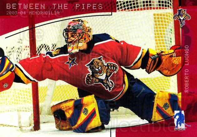 2003-04 BAP Memorabilia Ruby #157 Roberto Luongo<br/>2 In Stock - $3.00 each - <a href=https://centericecollectibles.foxycart.com/cart?name=2003-04%20BAP%20Memorabilia%20Ruby%20%23157%20Roberto%20Luongo...&quantity_max=2&price=$3.00&code=441367 class=foxycart> Buy it now! </a>