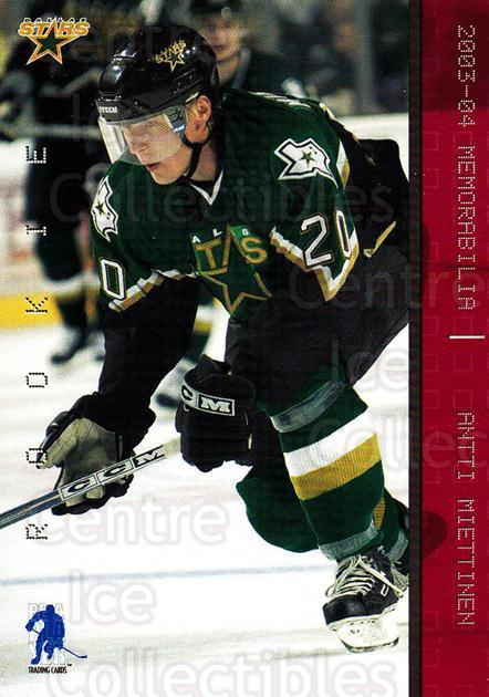 2003-04 BAP Memorabilia Ruby #199 Antti Miettinen<br/>1 In Stock - $5.00 each - <a href=https://centericecollectibles.foxycart.com/cart?name=2003-04%20BAP%20Memorabilia%20Ruby%20%23199%20Antti%20Miettinen...&quantity_max=1&price=$5.00&code=441404 class=foxycart> Buy it now! </a>