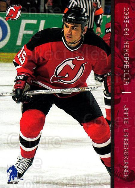 2003-04 BAP Memorabilia Ruby #32 Jamie Langenbrunner<br/>2 In Stock - $3.00 each - <a href=https://centericecollectibles.foxycart.com/cart?name=2003-04%20BAP%20Memorabilia%20Ruby%20%2332%20Jamie%20Langenbru...&quantity_max=2&price=$3.00&code=441408 class=foxycart> Buy it now! </a>
