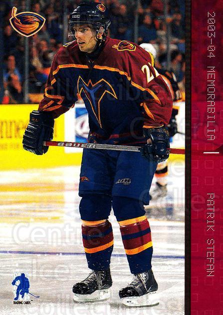 2003-04 BAP Memorabilia Ruby #67 Patrik Stefan<br/>3 In Stock - $3.00 each - <a href=https://centericecollectibles.foxycart.com/cart?name=2003-04%20BAP%20Memorabilia%20Ruby%20%2367%20Patrik%20Stefan...&quantity_max=3&price=$3.00&code=441447 class=foxycart> Buy it now! </a>