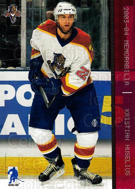 2003-04 BAP Memorabilia Ruby #45 Kristian Huselius<br/>3 In Stock - $3.00 each - <a href=https://centericecollectibles.foxycart.com/cart?name=2003-04%20BAP%20Memorabilia%20Ruby%20%2345%20Kristian%20Huseli...&quantity_max=3&price=$3.00&code=441485 class=foxycart> Buy it now! </a>