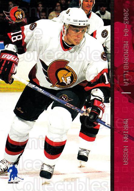 2003-04 BAP Memorabilia Ruby #47 Marian Hossa<br/>1 In Stock - $3.00 each - <a href=https://centericecollectibles.foxycart.com/cart?name=2003-04%20BAP%20Memorabilia%20Ruby%20%2347%20Marian%20Hossa...&quantity_max=1&price=$3.00&code=441487 class=foxycart> Buy it now! </a>
