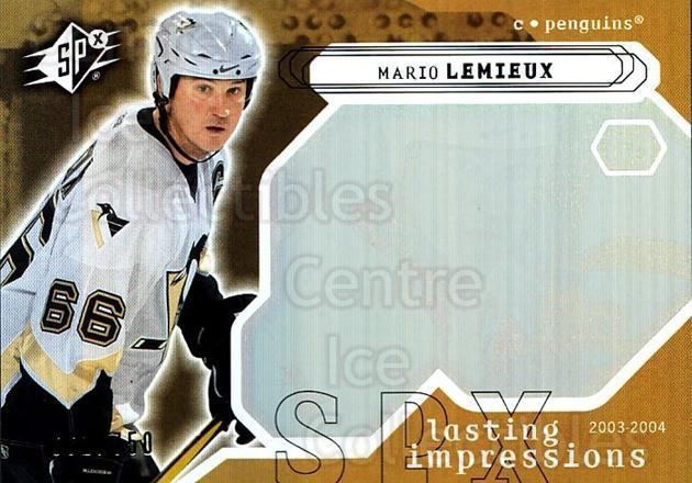 2003-04 SPx #114 Mario Lemieux<br/>2 In Stock - $10.00 each - <a href=https://centericecollectibles.foxycart.com/cart?name=2003-04%20SPx%20%23114%20Mario%20Lemieux...&quantity_max=2&price=$10.00&code=443389 class=foxycart> Buy it now! </a>