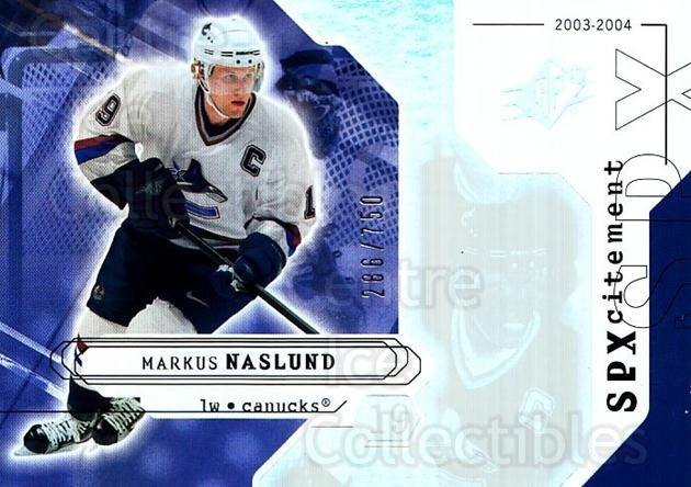 2003-04 SPx #152 Markus Naslund<br/>2 In Stock - $3.00 each - <a href=https://centericecollectibles.foxycart.com/cart?name=2003-04%20SPx%20%23152%20Markus%20Naslund...&quantity_max=2&price=$3.00&code=443427 class=foxycart> Buy it now! </a>