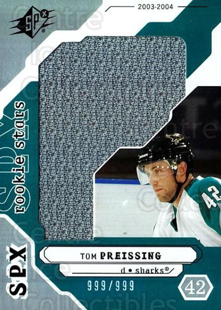 2003-04 SPx #197 Tom Preissing<br/>3 In Stock - $5.00 each - <a href=https://centericecollectibles.foxycart.com/cart?name=2003-04%20SPx%20%23197%20Tom%20Preissing...&quantity_max=3&price=$5.00&code=443472 class=foxycart> Buy it now! </a>