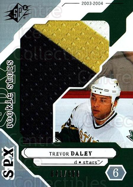 2003-04 SPx #240 Trevor Daley<br/>1 In Stock - $5.00 each - <a href=https://centericecollectibles.foxycart.com/cart?name=2003-04%20SPx%20%23240%20Trevor%20Daley...&quantity_max=1&price=$5.00&code=443515 class=foxycart> Buy it now! </a>