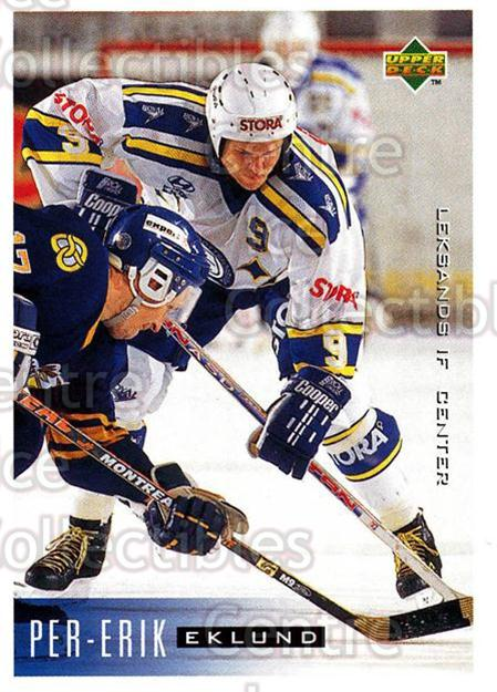 1995-96 Swedish Upper Deck #101 Per-Erik Eklund<br/>10 In Stock - $2.00 each - <a href=https://centericecollectibles.foxycart.com/cart?name=1995-96%20Swedish%20Upper%20Deck%20%23101%20Per-Erik%20Eklund...&quantity_max=10&price=$2.00&code=44365 class=foxycart> Buy it now! </a>