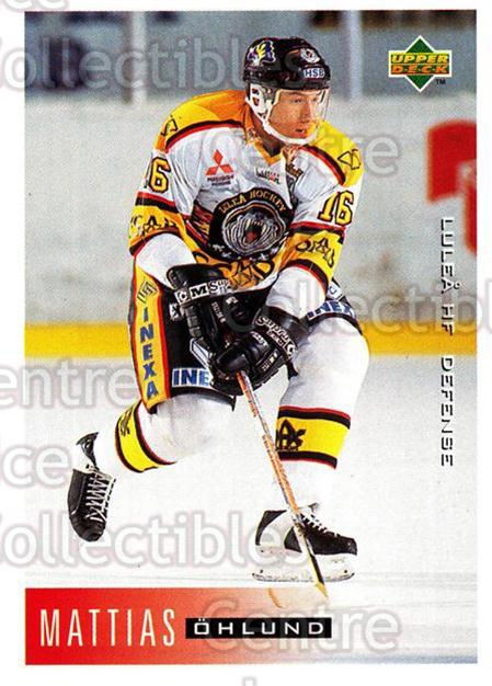 1995-96 Swedish Upper Deck #119 Mattias Ohlund<br/>8 In Stock - $2.00 each - <a href=https://centericecollectibles.foxycart.com/cart?name=1995-96%20Swedish%20Upper%20Deck%20%23119%20Mattias%20Ohlund...&quantity_max=8&price=$2.00&code=44382 class=foxycart> Buy it now! </a>