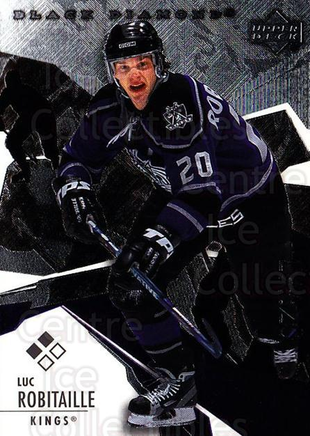 2003-04 Black Diamond #97 Luc Robitaille<br/>4 In Stock - $2.00 each - <a href=https://centericecollectibles.foxycart.com/cart?name=2003-04%20Black%20Diamond%20%2397%20Luc%20Robitaille...&quantity_max=4&price=$2.00&code=444000 class=foxycart> Buy it now! </a>