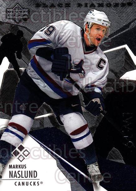 2003-04 Black Diamond #100 Markus Naslund<br/>4 In Stock - $2.00 each - <a href=https://centericecollectibles.foxycart.com/cart?name=2003-04%20Black%20Diamond%20%23100%20Markus%20Naslund...&quantity_max=4&price=$2.00&code=444003 class=foxycart> Buy it now! </a>