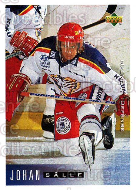 1995-96 Swedish Upper Deck #137 Johan Salle<br/>11 In Stock - $2.00 each - <a href=https://centericecollectibles.foxycart.com/cart?name=1995-96%20Swedish%20Upper%20Deck%20%23137%20Johan%20Salle...&quantity_max=11&price=$2.00&code=44401 class=foxycart> Buy it now! </a>