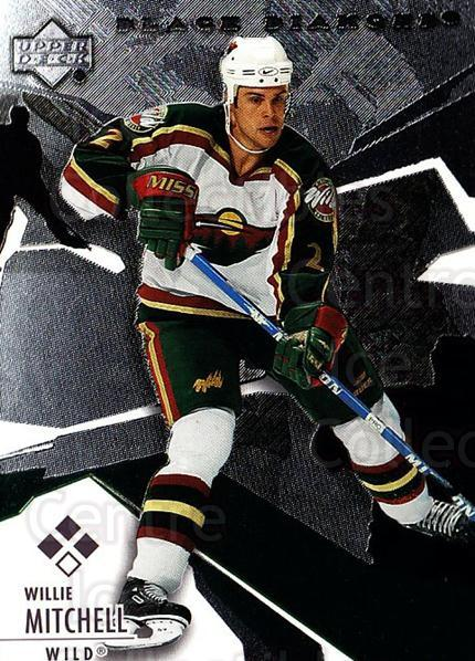 2003-04 Black Diamond #131 Willie Mitchell<br/>2 In Stock - $5.00 each - <a href=https://centericecollectibles.foxycart.com/cart?name=2003-04%20Black%20Diamond%20%23131%20Willie%20Mitchell...&quantity_max=2&price=$5.00&code=444034 class=foxycart> Buy it now! </a>
