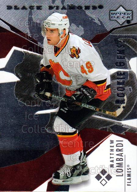 2003-04 Black Diamond #158 Matthew Lombardi<br/>4 In Stock - $5.00 each - <a href=https://centericecollectibles.foxycart.com/cart?name=2003-04%20Black%20Diamond%20%23158%20Matthew%20Lombard...&quantity_max=4&price=$5.00&code=444061 class=foxycart> Buy it now! </a>