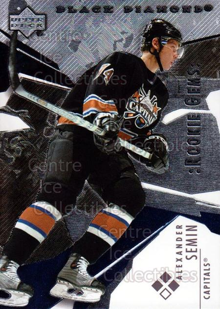 2003-04 Black Diamond #159 Alexander Semin<br/>1 In Stock - $5.00 each - <a href=https://centericecollectibles.foxycart.com/cart?name=2003-04%20Black%20Diamond%20%23159%20Alexander%20Semin...&quantity_max=1&price=$5.00&code=444062 class=foxycart> Buy it now! </a>