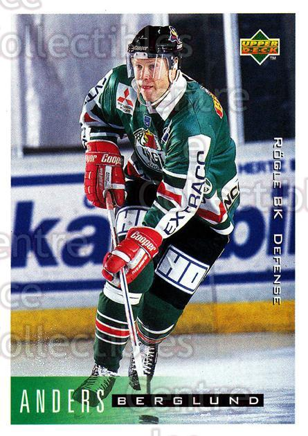 1995-96 Swedish Upper Deck #171 Anders Berglund<br/>12 In Stock - $2.00 each - <a href=https://centericecollectibles.foxycart.com/cart?name=1995-96%20Swedish%20Upper%20Deck%20%23171%20Anders%20Berglund...&quantity_max=12&price=$2.00&code=44439 class=foxycart> Buy it now! </a>