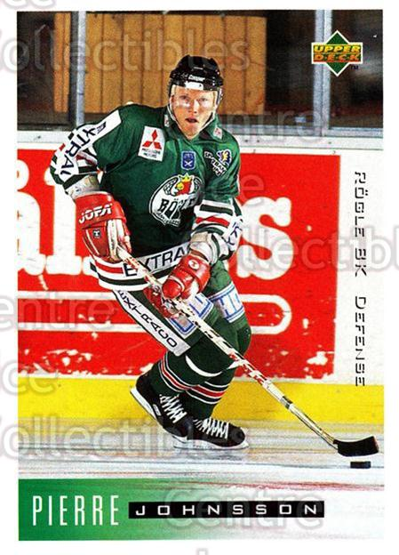 1995-96 Swedish Upper Deck #172 Pierre Johnsson<br/>10 In Stock - $2.00 each - <a href=https://centericecollectibles.foxycart.com/cart?name=1995-96%20Swedish%20Upper%20Deck%20%23172%20Pierre%20Johnsson...&quantity_max=10&price=$2.00&code=44440 class=foxycart> Buy it now! </a>