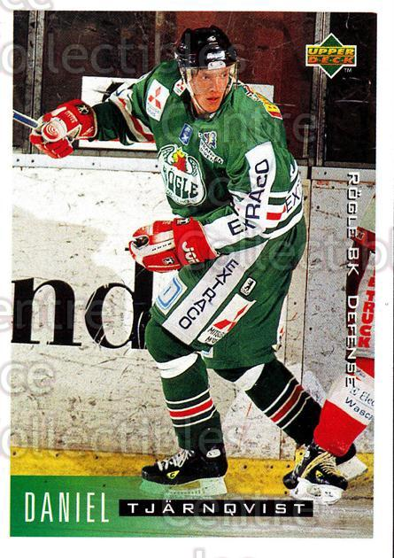1995-96 Swedish Upper Deck #175 Daniel Tjarnqvist<br/>8 In Stock - $2.00 each - <a href=https://centericecollectibles.foxycart.com/cart?name=1995-96%20Swedish%20Upper%20Deck%20%23175%20Daniel%20Tjarnqvi...&quantity_max=8&price=$2.00&code=44443 class=foxycart> Buy it now! </a>
