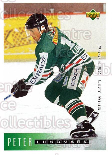 1995-96 Swedish Upper Deck #178 Peter Lundmark<br/>10 In Stock - $2.00 each - <a href=https://centericecollectibles.foxycart.com/cart?name=1995-96%20Swedish%20Upper%20Deck%20%23178%20Peter%20Lundmark...&quantity_max=10&price=$2.00&code=44446 class=foxycart> Buy it now! </a>