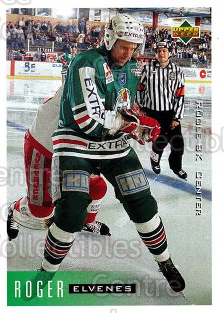 1995-96 Swedish Upper Deck #179 Roger Elvenes<br/>5 In Stock - $2.00 each - <a href=https://centericecollectibles.foxycart.com/cart?name=1995-96%20Swedish%20Upper%20Deck%20%23179%20Roger%20Elvenes...&quantity_max=5&price=$2.00&code=44447 class=foxycart> Buy it now! </a>