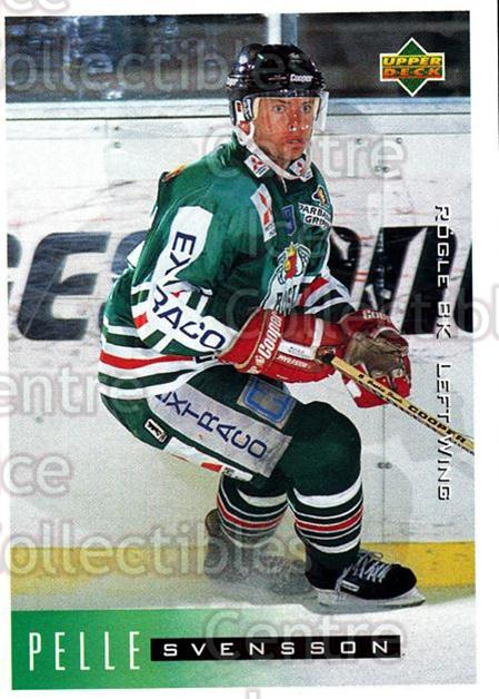 1995-96 Swedish Upper Deck #182 Pelle Svensson<br/>9 In Stock - $2.00 each - <a href=https://centericecollectibles.foxycart.com/cart?name=1995-96%20Swedish%20Upper%20Deck%20%23182%20Pelle%20Svensson...&quantity_max=9&price=$2.00&code=44451 class=foxycart> Buy it now! </a>