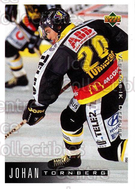 1995-96 Swedish Upper Deck #190 Johan Tornberg<br/>11 In Stock - $2.00 each - <a href=https://centericecollectibles.foxycart.com/cart?name=1995-96%20Swedish%20Upper%20Deck%20%23190%20Johan%20Tornberg...&quantity_max=11&price=$2.00&code=44460 class=foxycart> Buy it now! </a>