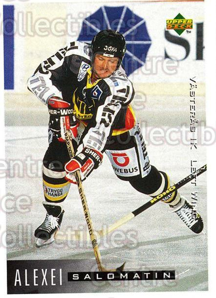1995-96 Swedish Upper Deck #194 Alexei Salomatin<br/>12 In Stock - $2.00 each - <a href=https://centericecollectibles.foxycart.com/cart?name=1995-96%20Swedish%20Upper%20Deck%20%23194%20Alexei%20Salomati...&quantity_max=12&price=$2.00&code=44464 class=foxycart> Buy it now! </a>