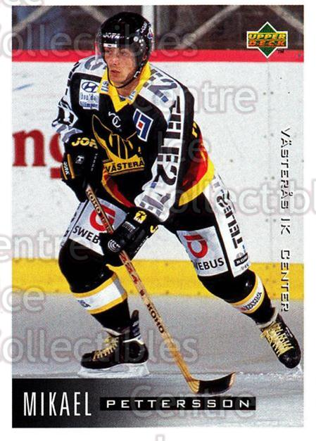 1995-96 Swedish Upper Deck #196 Mikael Pettersson<br/>10 In Stock - $2.00 each - <a href=https://centericecollectibles.foxycart.com/cart?name=1995-96%20Swedish%20Upper%20Deck%20%23196%20Mikael%20Petterss...&quantity_max=10&price=$2.00&code=44466 class=foxycart> Buy it now! </a>