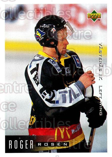 1995-96 Swedish Upper Deck #201 Roger Rosen<br/>8 In Stock - $2.00 each - <a href=https://centericecollectibles.foxycart.com/cart?name=1995-96%20Swedish%20Upper%20Deck%20%23201%20Roger%20Rosen...&quantity_max=8&price=$2.00&code=44473 class=foxycart> Buy it now! </a>