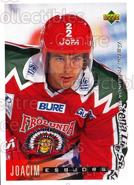 1995-96 Swedish Upper Deck #205 Joacim Esbjors<br/>11 In Stock - $2.00 each - <a href=https://centericecollectibles.foxycart.com/cart?name=1995-96%20Swedish%20Upper%20Deck%20%23205%20Joacim%20Esbjors...&quantity_max=11&price=$2.00&code=44476 class=foxycart> Buy it now! </a>