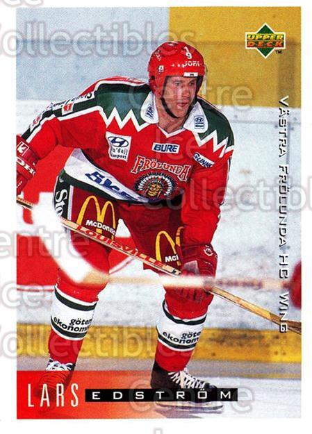 1995-96 Swedish Upper Deck #214 Lars Edstrom<br/>12 In Stock - $2.00 each - <a href=https://centericecollectibles.foxycart.com/cart?name=1995-96%20Swedish%20Upper%20Deck%20%23214%20Lars%20Edstrom...&quantity_max=12&price=$2.00&code=44486 class=foxycart> Buy it now! </a>