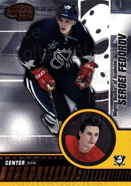 2003-04 Invincible #2 Sergei Fedorov<br/>4 In Stock - $2.00 each - <a href=https://centericecollectibles.foxycart.com/cart?name=2003-04%20Invincible%20%232%20Sergei%20Fedorov...&quantity_max=4&price=$2.00&code=444947 class=foxycart> Buy it now! </a>